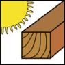 Vhodné na suché dřevo