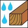 Vhodné na mokré a zelené dřevo